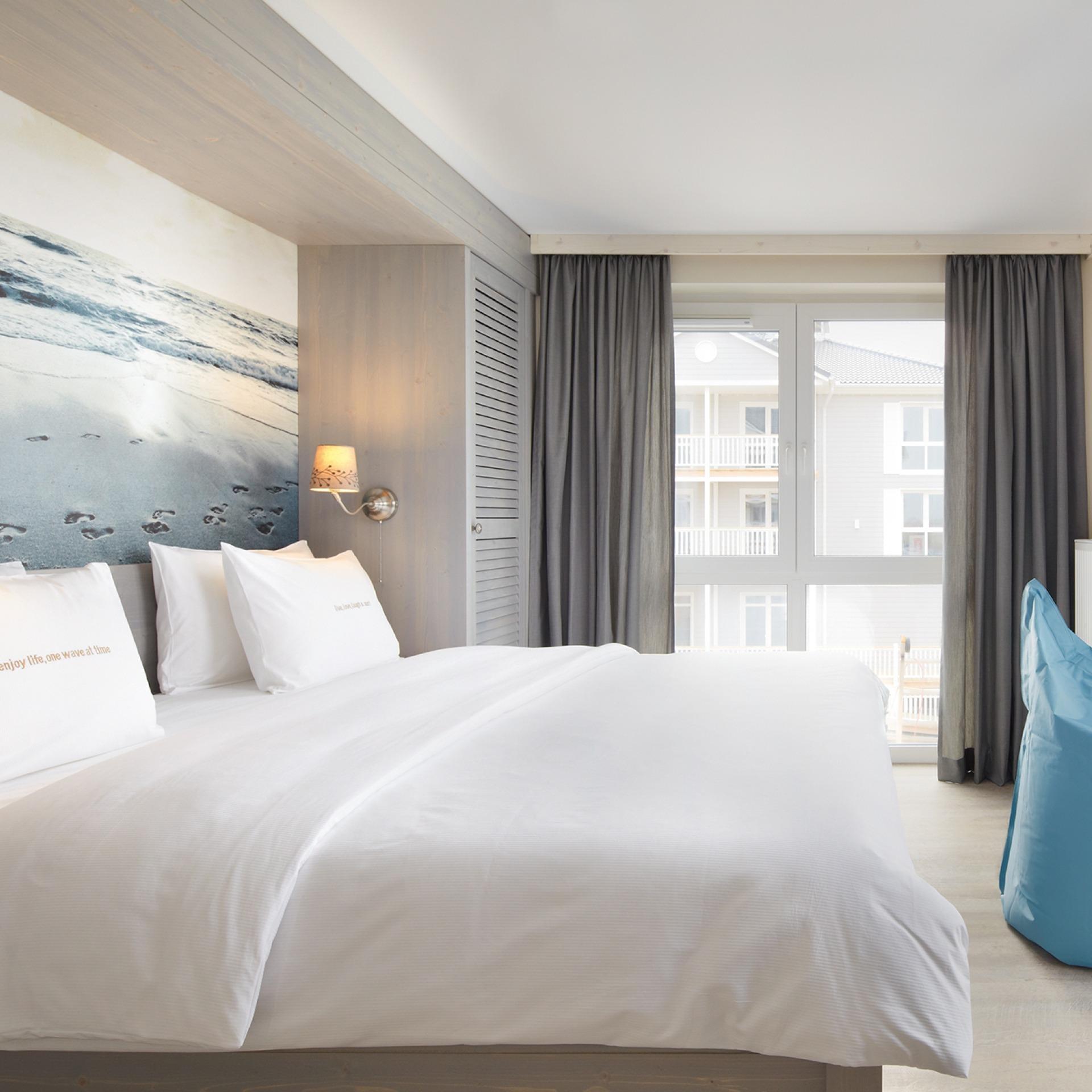 zimmer beach motel spo mit meerblick. Black Bedroom Furniture Sets. Home Design Ideas